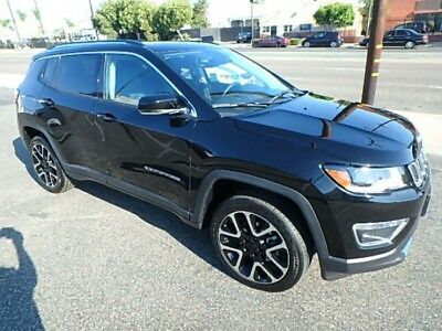 2017 Jeep Compass Limited 4x4 2017 Jeep Compass Limited 4WD Salvage Money Saver! Ready To Go! Priced To Sell!