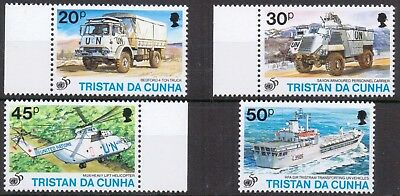 TRISTAN DA CUNHA Small lot of MILITARY Great Used
