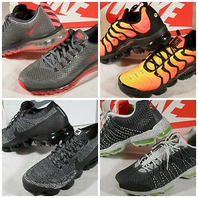 100% authentic f7e50 99430 EUC NIKE AIR Max Motion 95 Ultra JCRD VaporMax Plus Flyknit Shoes Sneakers  12 13