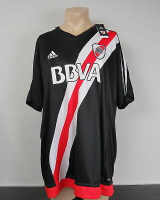 River Plate 2016-17 4th shirt adidas soccer jersey size L *BNWT*