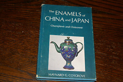 The Enamels Of China And Japan Champleve And Cloisonne By Maynard G Cosgrove