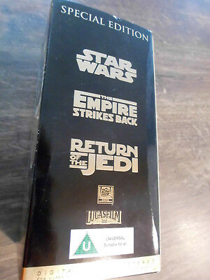 Star Wars Trilogy Special Edition Gold Editionmit Interview, Making of