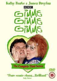 Gimme Gimme Gimme. Series 3. Third Series. Dvd. Regions 2,4. Kathy Burke