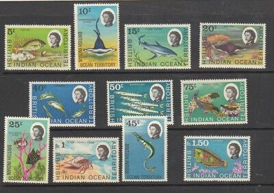 British Indian Ocean Territory  1968.  Mint Lightly Hinged