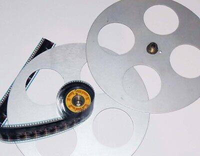 35mm Film Split Reel 29cm 1000' capacity made by Hollywood Film Co USA