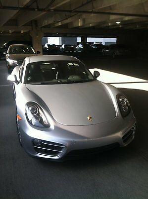 "2014 Porsche Cayman ALL QUALITY OPTIONS Rhodium Silver - 2014 Porsche Cayman Base 2800-miles ""MINT CONDITION THROUGHOUT"""