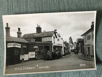 Hythe Southampton High Street Strong & Co Romsey Sign Vintage Cars Shop Fronts