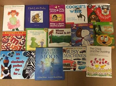 Lot of 20 K-5 Scholastic Learn to Read Picture Mix Set Kid Children Book #L43 NR