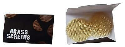 Brass Screens Pipe Screen Filters - 3/4 Inch, 75 Filters in a Pack