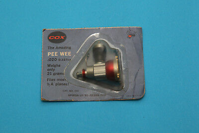 Cox Pee Wee 020 1960er Jahre in Blisterpackung