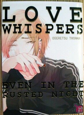 Love Whispers - Even in the rusted night, Einzelband, französisch, Yaoi