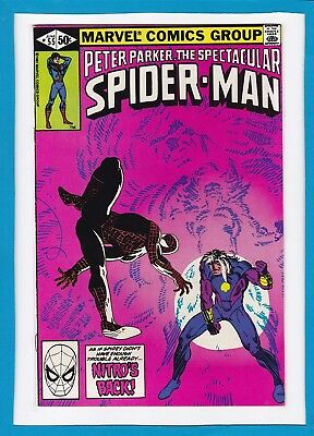 """Peter Parker The Spectacular Spider-Man #55_June 1981_Very Good_""""nitro's Back""""!"""
