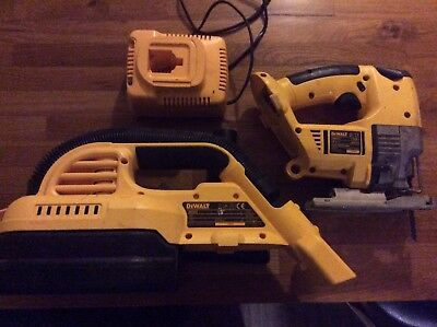 DEWALT 18v , Jigsaw, Hoover and Charger. Used but good condition