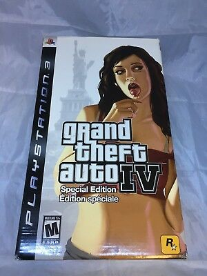 Grand Theft Auto IV Special Limited Edition Safe Deposit GTA 4 PS3