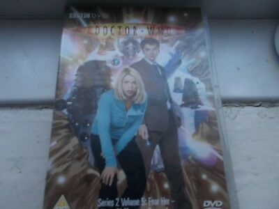Doctor Who- Fear Her, Army of Ghosts & Doomsday dvd
