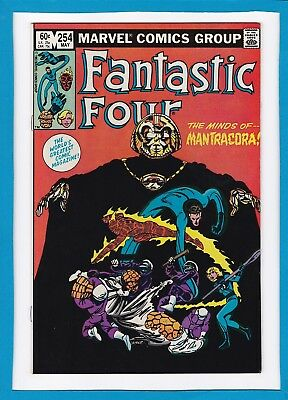 Fantastic Four #254_May 1983_Very Fine/near Mint_John Byrne_Bronze Age Marvel!