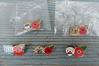 Remembrance Day Poppy Badges Football Teams