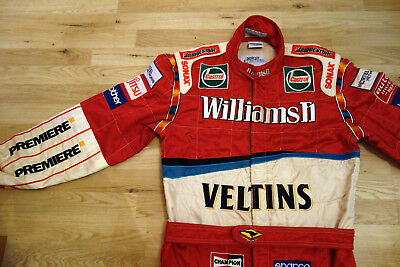 Rennanzug/Rennoverall Sparco Williams Formel 1 Race Suit F1