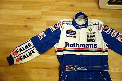 Rennanzug/Rennoverall Sparco Williams Formel 1 Promo-Race Suit F1