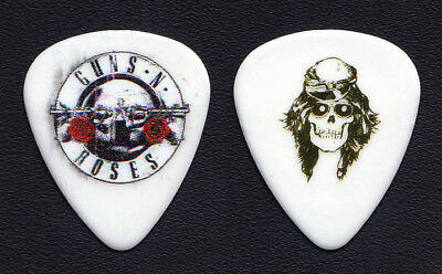 Guns N' Roses Axl Rose Signature White Guitar Pick - 2018 Tour GNR No Tortex