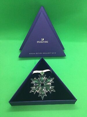 Swarovski 2018 Annual Edition Crystal Ornament Limited Edition 2 5301575