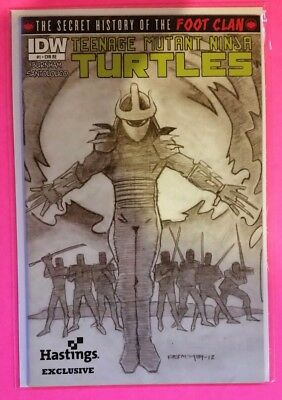 Teenage Mutant Ninja Turtles: Secret History Of The Foot Clan Hastings Variant!
