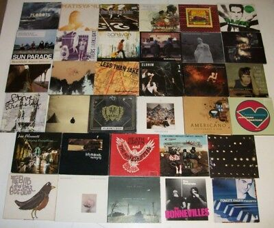 RARE Lot #1 of 34 INDIE Underground ALL SLIPCASE Full Album SINGLES Samplers CDs
