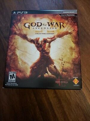 God of War: Ascension Collector's Edition (PlayStation 3, 2013) PS3 New Sealed