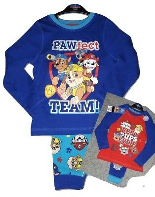 Paw Patrol Pjs, Boys Pyjamas,Kids,Childrens Pyjamas Blue,Nickelodeon,2,3,4,5,