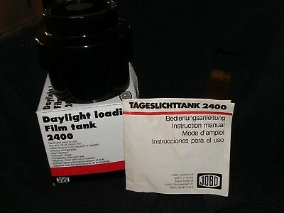 JOBO Daylight loading Film Tank - 2400 with box/booklet See details in descrip