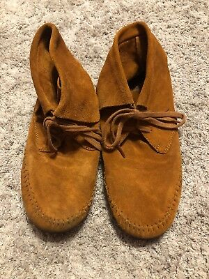 Lucky Brand Suede Moccasin Booties Womens Size 7 10 00 Picclick