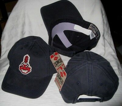 Cleveland Indians American Needle Retro 1948 Chief Wahoo Logo Snapback Hat  Nwt 90d340662dd