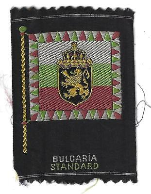 1910 S39 National Flags Arms Bulgaria Standard