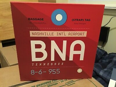 BNA Nashville International Airport Sign!