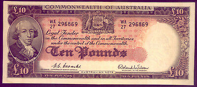 R62 A Beautiful Ten Pound Note Coombs & Wilson  No Reserve!!