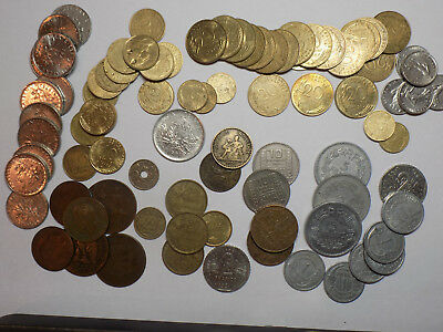 Set of 85 French Coins (E11)