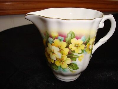 Royal Grafton Yellow Flowers Creamer