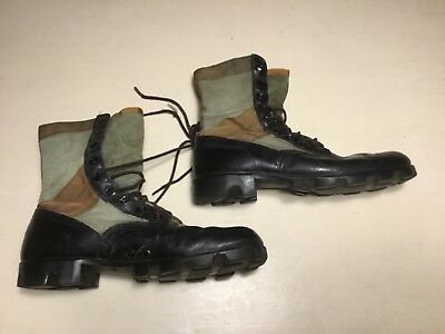 US Military Spike Protective Jungle Boots - Good condition - size 9R