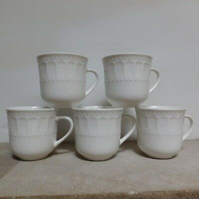 BN THE PALM Restaurant Porcelain Cups 5 in all