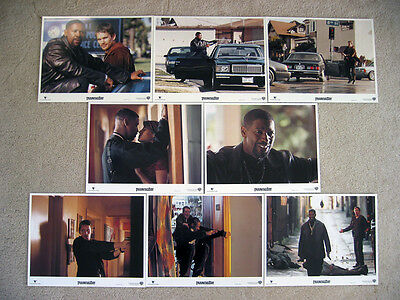 Training Day Lobby Cards, Denzel Washington, Ethan Hawke