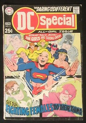 DC Special #3 (1969) 5.0...Unpublished Golden Age Wonder Woman story..H.G. Peter