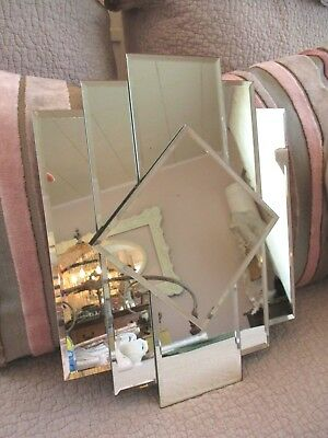Vintage Skyscraper Mirror Art Deco Hollywood Glam Shabby New York Apt Chic