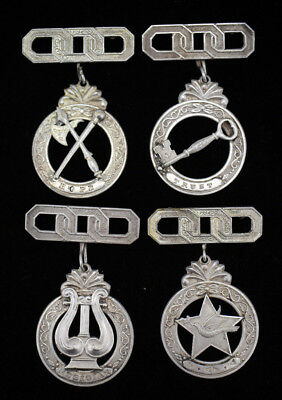 Rare Vintage Antique OOO Odd Fellows ? Masonic ? Medals or Pins Set