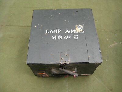 WW2 Vickers MG Aiming Light.  Unissued.