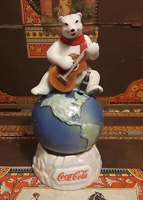 Coca Cola Polar Bear Music Box