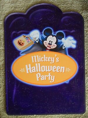 """Awesome Disneyland Mickey's Halloween Party Tombstone Park Sign / Prop 20"""" X 27"""""""