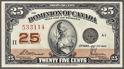 1923 Dominion of Canada - 25 Cents - AU - DC24c - 533114