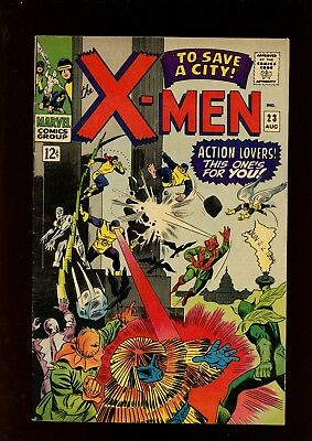 X-Men 23 FN/VF 7.0 * 1 Book Lot * 1st Professor Xavier's Mechanical Legs!