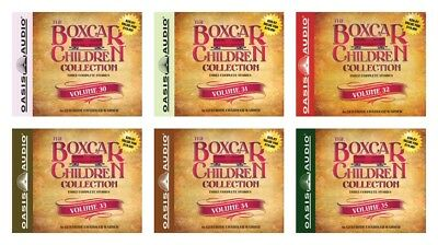 NEW The Boxcar Collection Set of 6 Audio Book CD Volume 30 31 32 33 34 35 36