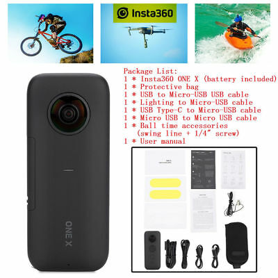 Insta360 ONE X Bluetooth Action Camera VR 360 Panoramic Camera For Smartphone SP